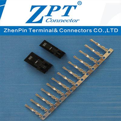 2.54间距MX2.54(小飞机)带锁胶壳Housing及端子Terminal
