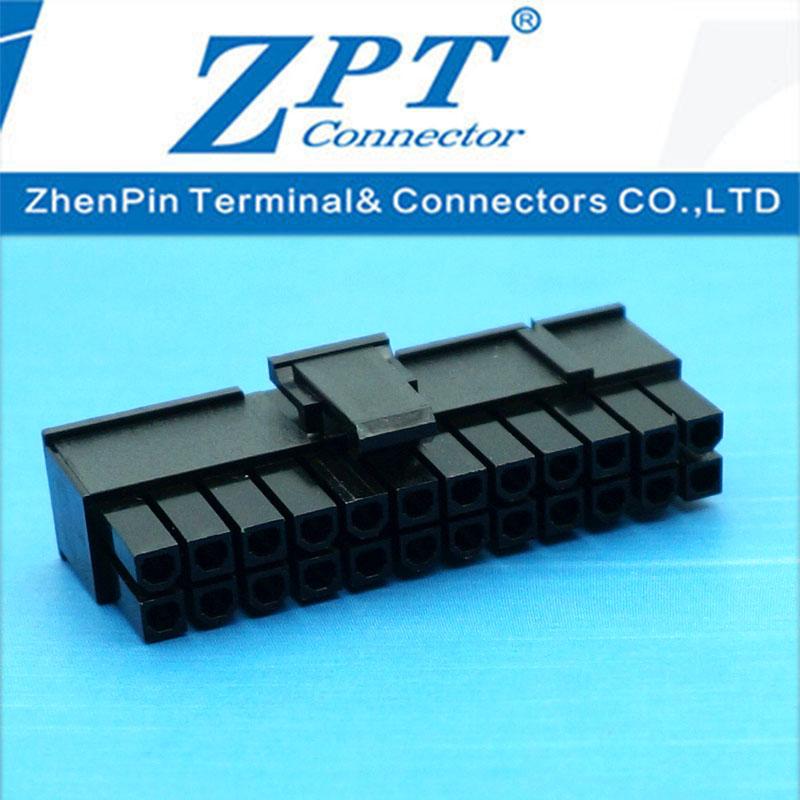 MX4.2连接器20+4P滑轨式胶壳黑色