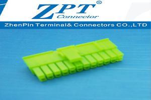MX4.2连接器20+4P滑轨式胶壳绿色