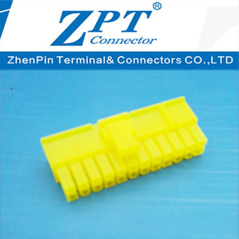 MX4.2连接器20+4P滑轨式胶壳黄色